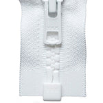 Vislon Open-Ended Chunky Zip - White 501