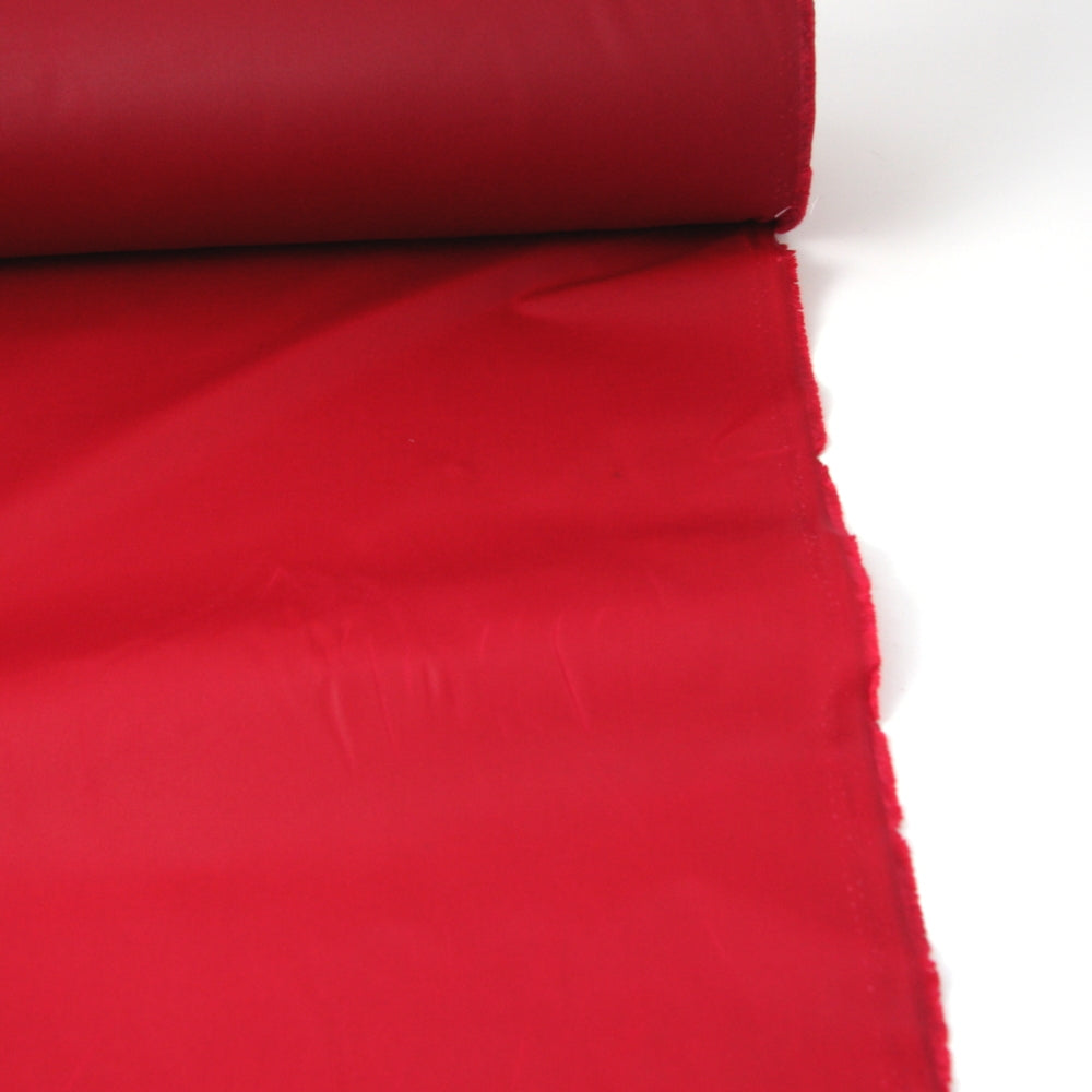 Oil Cloth - Medium Weight Waxed Cotton - Red