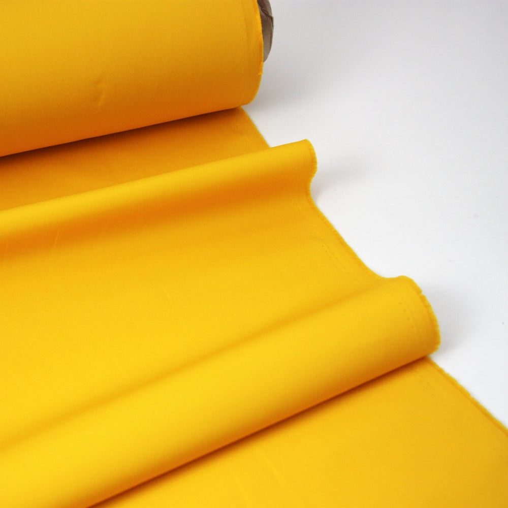 Oil Cloth - Lightweight Waxed Cotton - Yellow