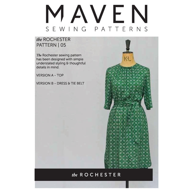 Maven Patterns - The Rochester Top & Dress