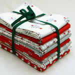Bunny Hill Xmas - Fat Quarter Bundle of Eight