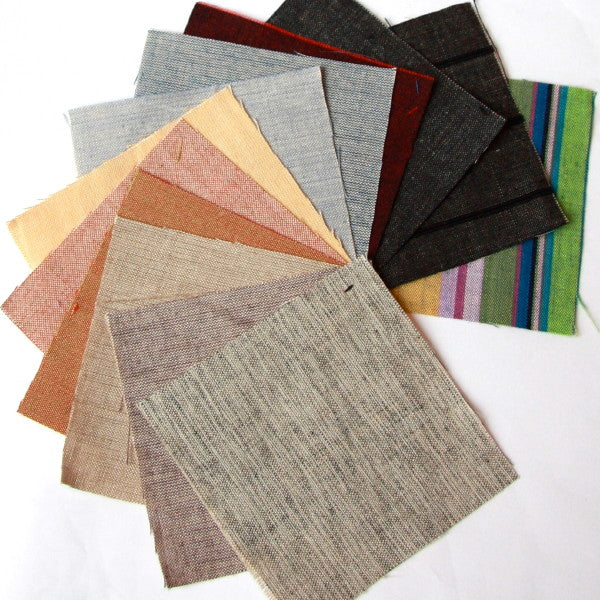 Organic Cotton Crossweave - Swatch Pack