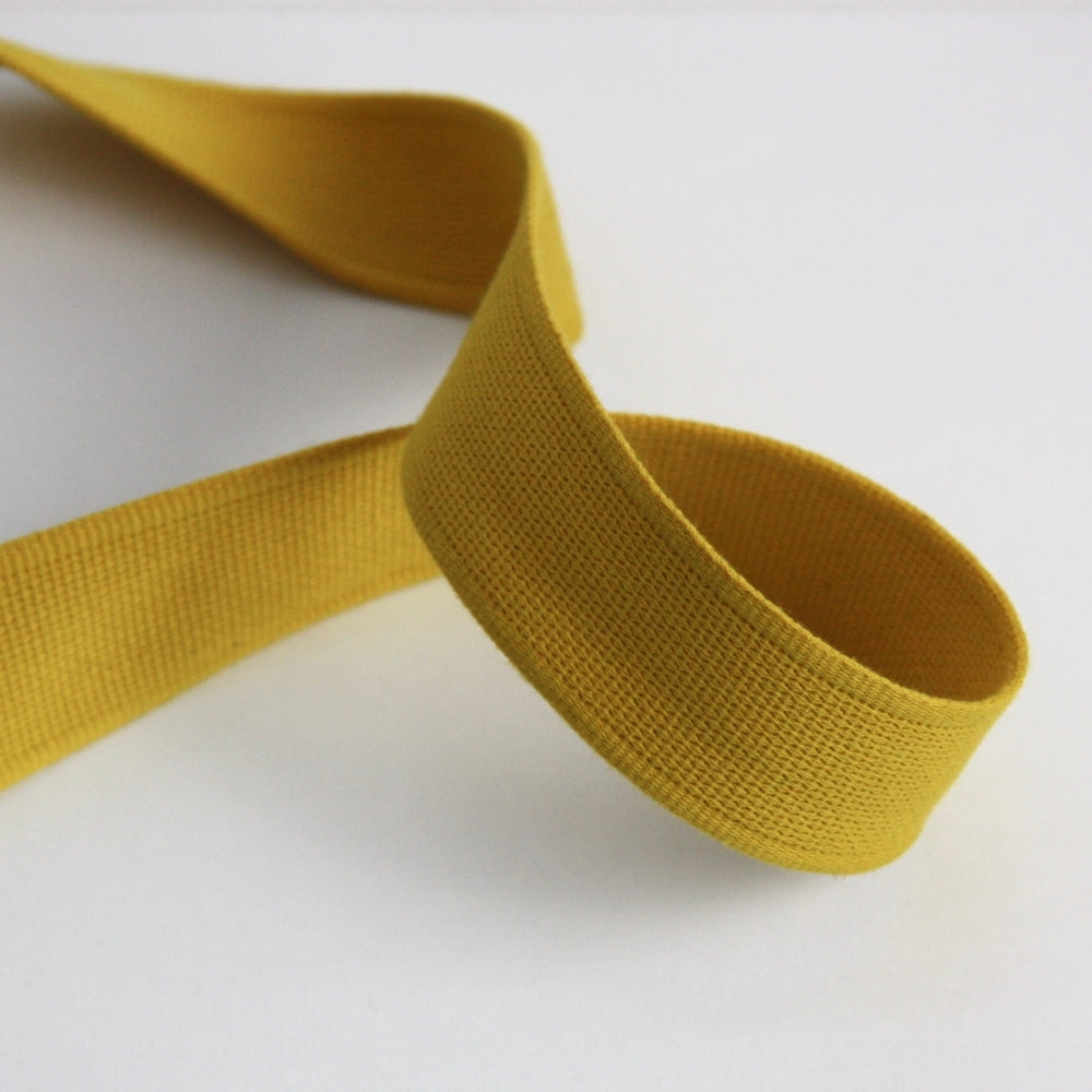 Cotton Strap Webbing - Yellow Elder
