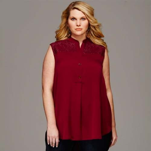 Simplicity 8140 - Plus Size Shirt