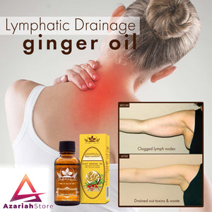 NaturalTherapy™ Lymphatic Drainage Ginger Oil - AzariahStore