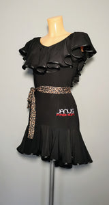Black Latin Practice Dress