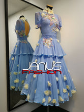 Load image into Gallery viewer, BlueBell Ballroom Competition Dress