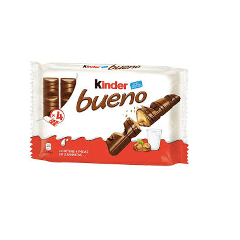 Chocolate Kinder Bueno Pack 4 (172gr)