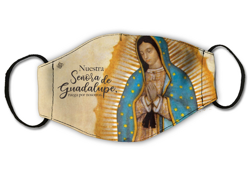 4 FaceCovers Guadalupe Set