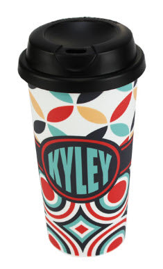 CUSTOM SUBLIMATION TRAVEL MUG - 15 oz.