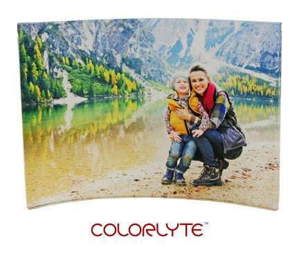 COLORLYTE CURVED ACRYLIC PANEL 5X7