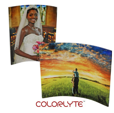 COLORLYTE CURVED ACRYLIC PANEL 8x10