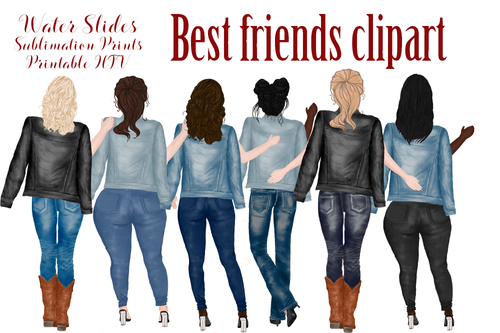 Best Friends Art Sublimation Prints