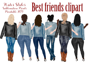 Best Friends Art Heat Transfer Vinyl