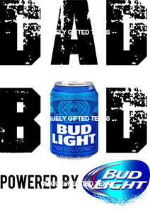 DAD BOD BUD LIGHT - INSTANT DOWNLOAD - PNG SVG