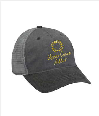 GLITTER CRAZE COTTON TWILL CAP