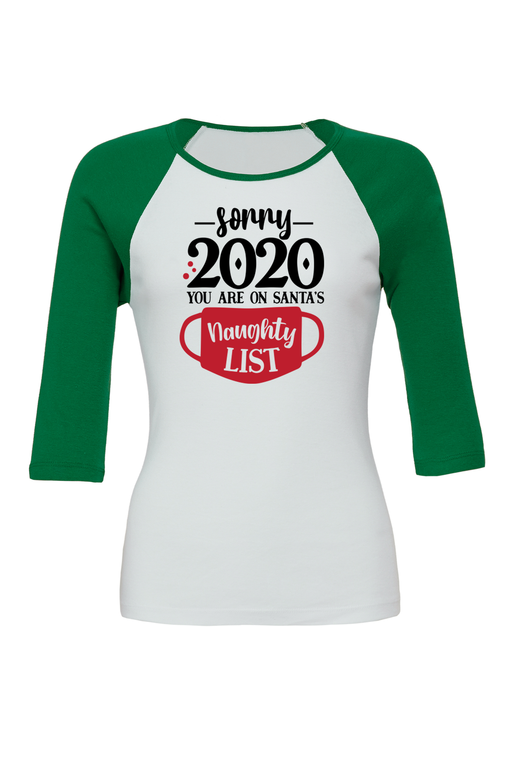 CHRISTMAS SHIRT SORRY 2020