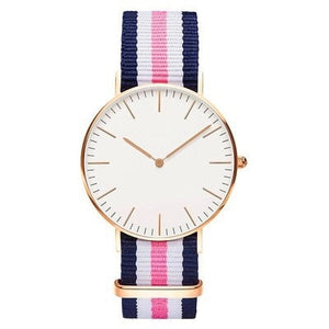 Nylon Strap Style Quartz Women Watch Top Brand Watches Fashion Casual Fashion Wrist Watch 2018 Hot Sale  Fashion Ladies Watches