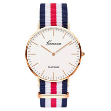 Load image into Gallery viewer, Nylon Strap Style Quartz Women Watch Top Brand Watches Fashion Casual Fashion Wrist Watch 2018 Hot Sale  Fashion Ladies Watches