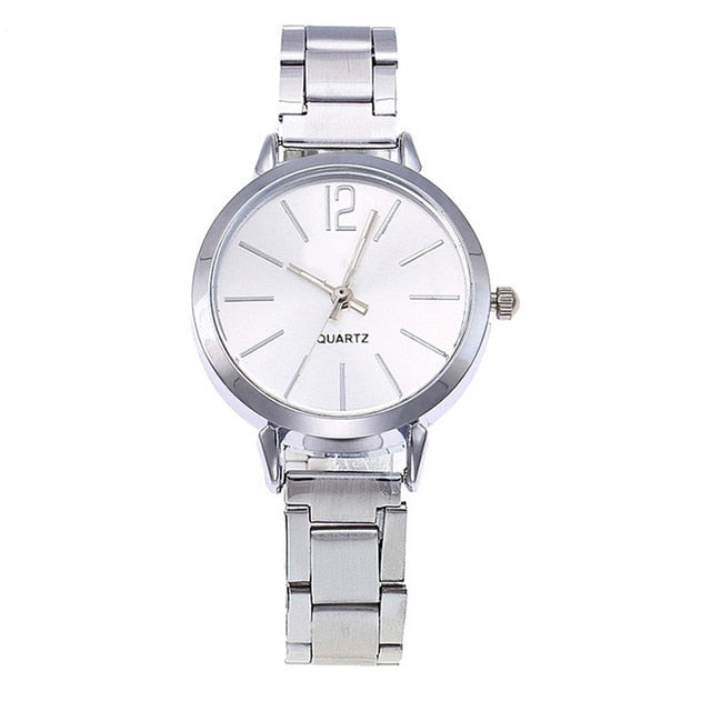 Minimalis Women's Watches Bayan Kol Saaty Fashion Simple And Stylish Steel Belt Ladies Watch Relogio Feminino De Luxe Marquez@50