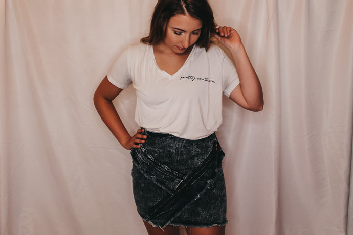 Blakely Denim Skirt