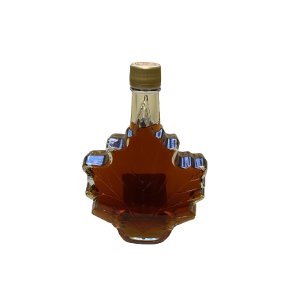 500ml Maple Syrup (Maple Leaf Glass)