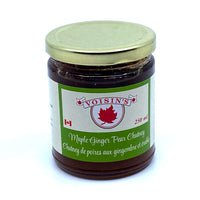Maple Ginger Pear Chutney