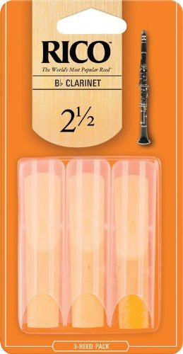 Rico Clarinet Reeds (Bb and Bass Clarinet)