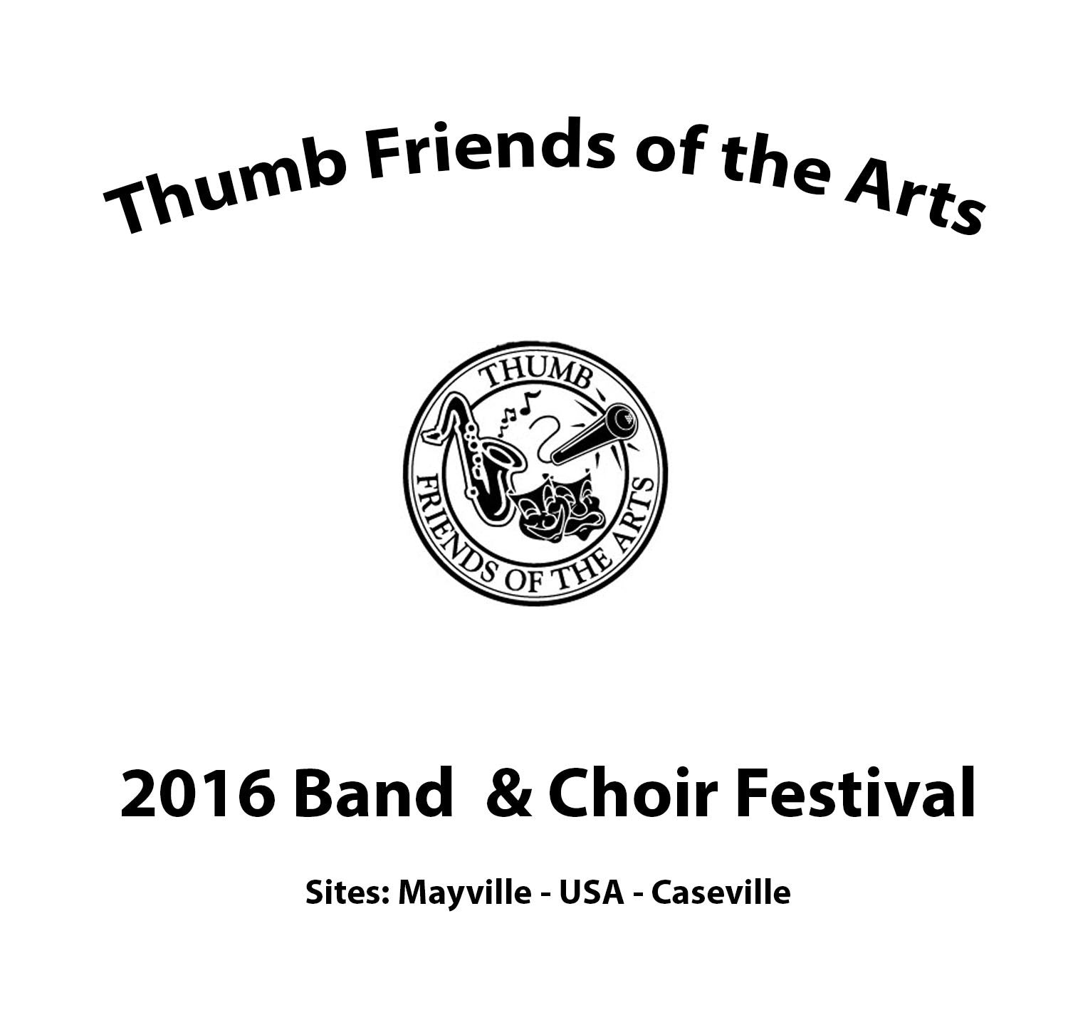 2017 TFOTA Band & Choir Festival DVDs