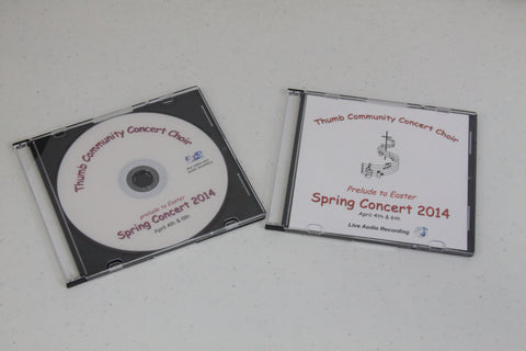 2014 Thumb Community Concert Choir DVD