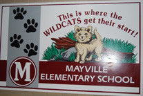 Mayville Elementary Cups and Easter Egg Hunt DVD