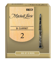 Mitchell Lurie Clarinet Reeds Box of 10 (Strength 2, 2.5, 3, 3.5 & 4)