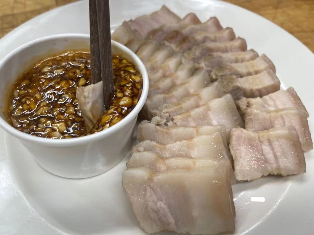 冷藏蒜泥白肉 Chilled Garlic White Meat