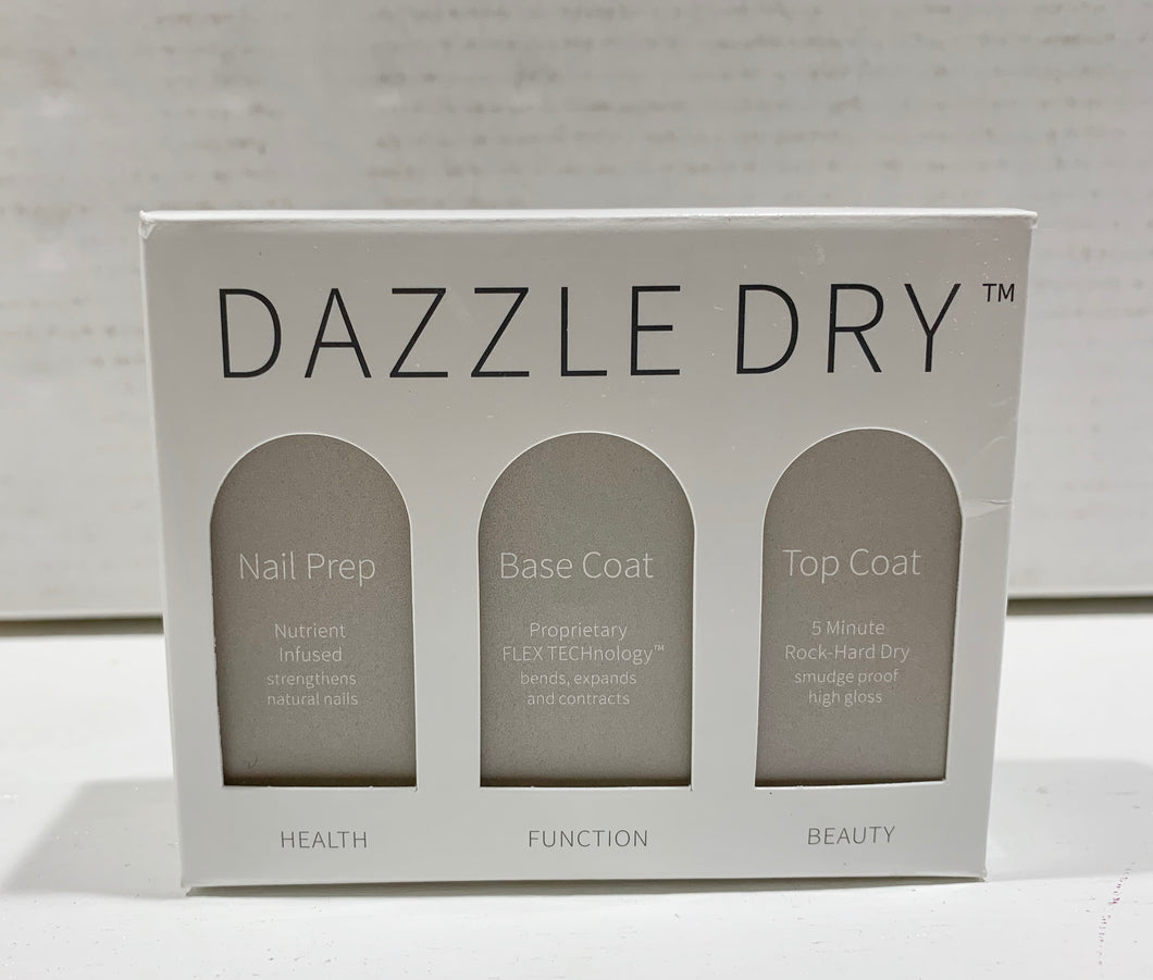 Dazzle Dry 3 piece Nail Care Kit