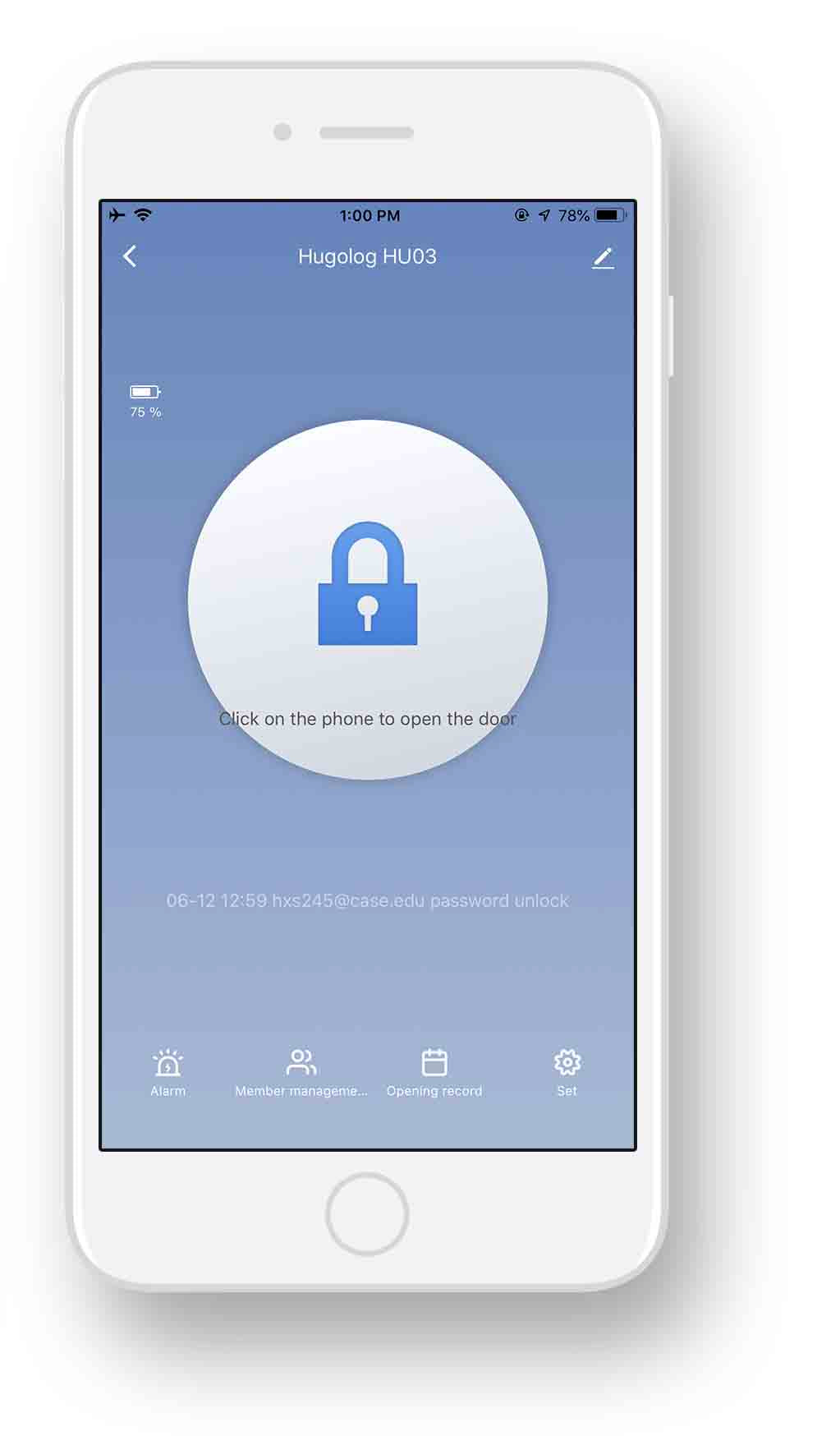 remote-unlock-app-screen