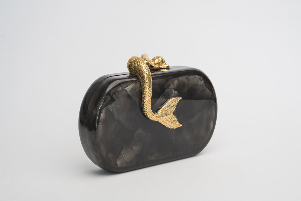 Siren Minaudière in Black