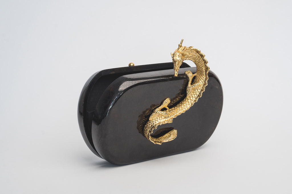 Suzy Wong Minaudière in Black