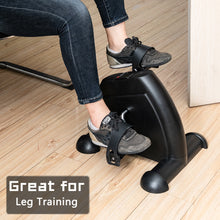 Load image into Gallery viewer, Exercise Bike Hands and Feet Trainer Mini Home Use Black