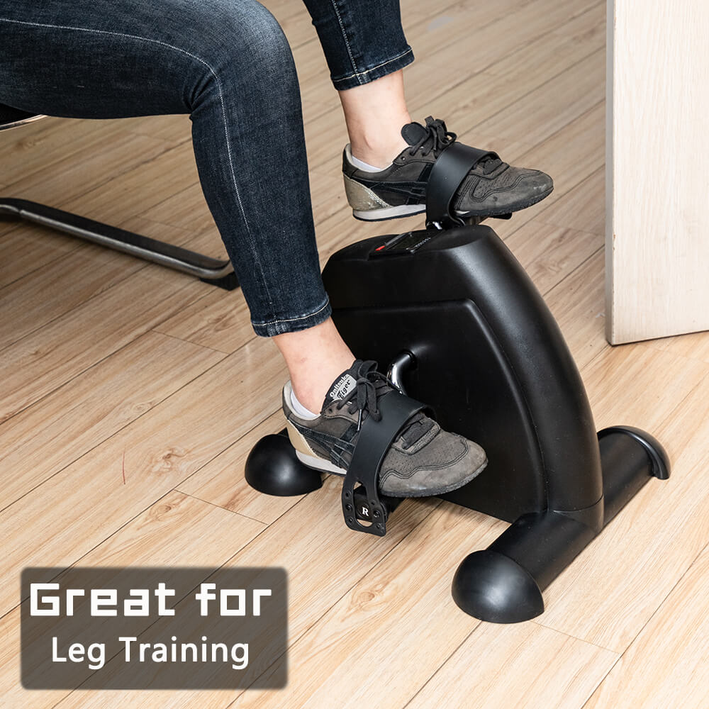 Exercise Bike Hands and Feet Trainer Mini Home Use Black