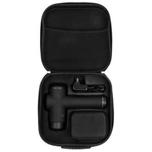 Massage Gun Set Of 6 Handbag Black