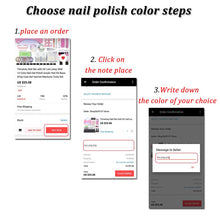 Load image into Gallery viewer, Gel Polish Nail Set