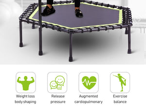 Fitness Trampoline for Indoor GYM Jump Sports 48 Inch