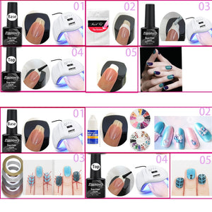 Nail drill Machine Nail lamp Acrylic Nail Art Set