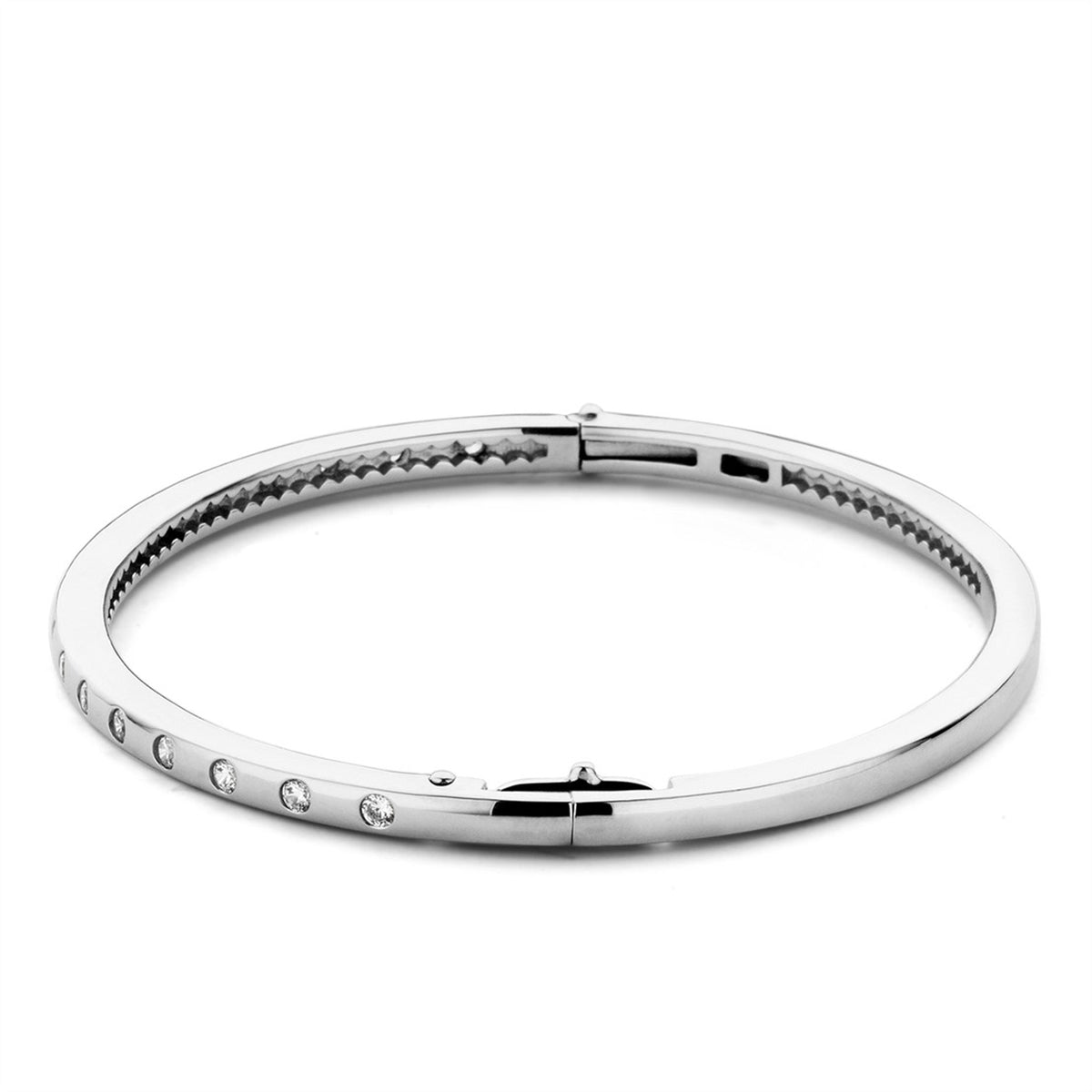 TI SENTO Sterling Silver Burnish Set Bracelet