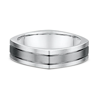 Men's Dora 14K and Titanium 6mm Wedding Band
