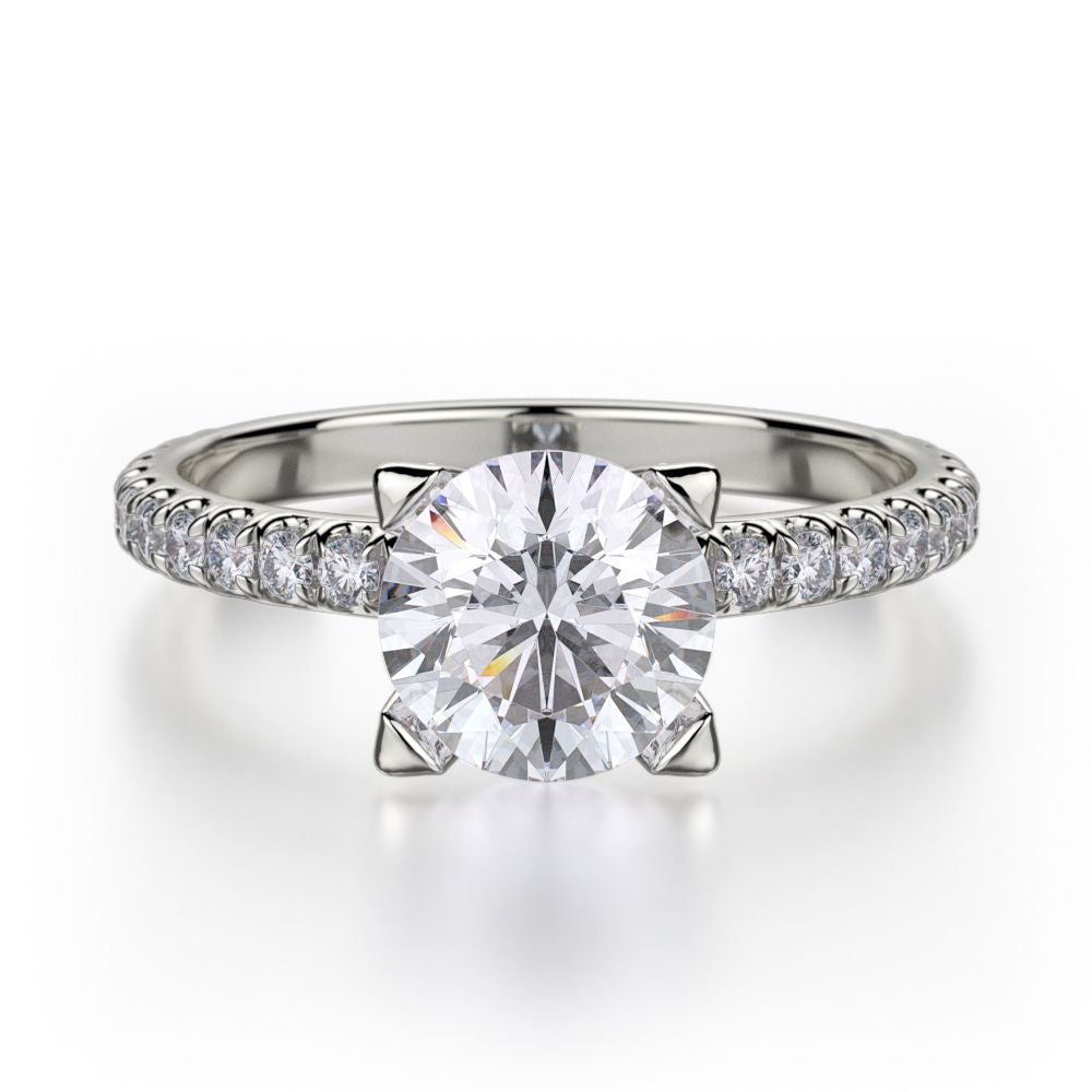 Michael M Europa Diamond Engagement Ring