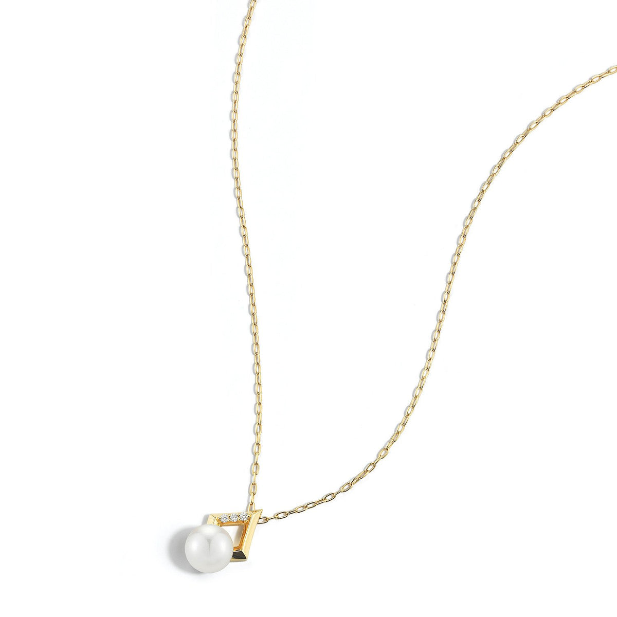 Valani 18K Yellow Gold Kharis Pearl Necklace