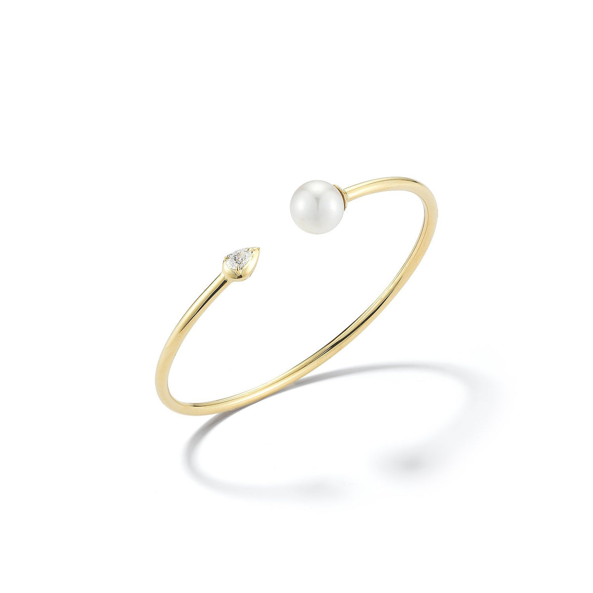 Valani 18K Yellow Gold Zurie Pearl Cuff