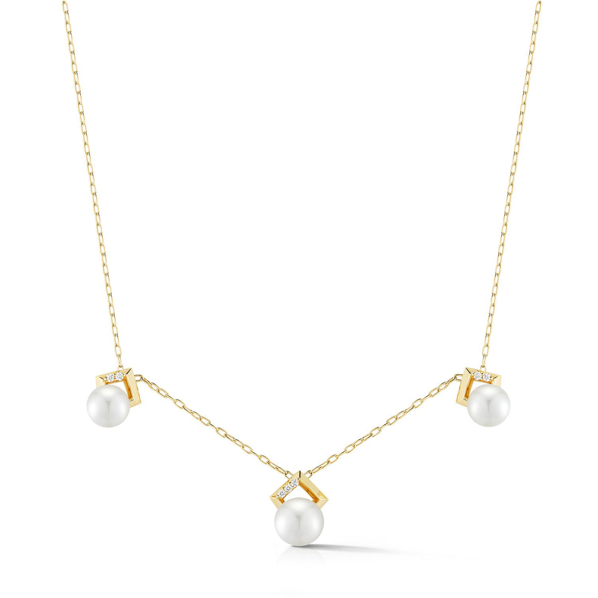 Valani 18K Yellow Gold Kharis III Pearl Necklace