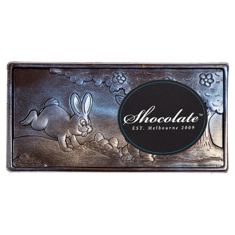 Midnight Easter Hunt Dark Chocolate Block